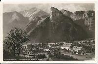 Ansichtskarte Oberammergau - Totalansicht mit Kofel und Noth - 30er Jahre - s/w