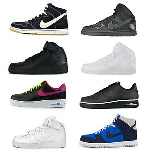 Ausverkauf Nike Air Force 1 One 15+ Modelle Son of Force Dunk Low Mid High