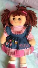 Personalised Rag Doll Melody Christening New Baby Flower Girl 34 cms Ragdoll