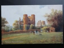 Entrance Kenilworth Castle Art by W W Quatremain Pub By J Salmon 1868