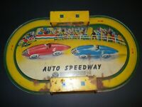 Vintage * Auto Speedway Race track....Automatic Toy Co.