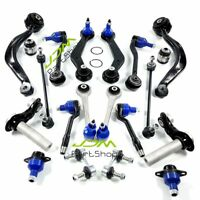 Front Rear Control Arm Suspension Kit Sway Bar Ball Joints for BMW X5 E53 00-06