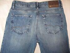 Hugo Boss Mens Jeans Straight Leg Distressed Wash  33 X 28