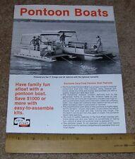 pontoon boat   eBay