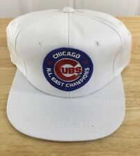 Chicago Cubs 1989 N.L. East Champions Players Hat New Original