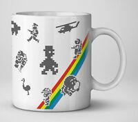 Retro ZX Spectrum Games mug (sinclair spectrum gaming)