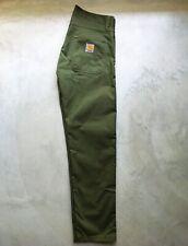 Pantaloni Carhartt Skill Pant verde militare taglia 32X32