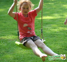 Apple Green Plastic Swing Seat and ropes for kids Climbing Frame or Swing Frame