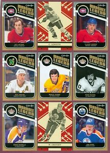 2011-12 O PEE CHEE RC RETRO BLACK RAINBOW /100 ACTION NHL HOCKEY CARD SEE LIST