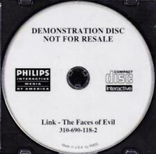 Link: The Faces of Evil Demonstration Disc PHILIPS CDi three Zelda based games!