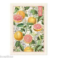 Michel Design Works Cotton Kitchen Tea Towel Pink Grapefruit - NEW