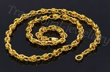 Handmade Byzantine Styli Unisex Chain Exclusive 22K Yellow Gold Unique Design