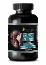 """Unleash Your Wolf"" Male Enhancement. Sexual Drive, Extra Strength (1 Bottle)"