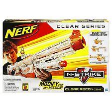 Brand New NERF N-Strike RECON CS-6 Dart BLASTER Clear RARE