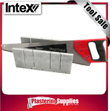 Intex Mega Aluminium Mitre Box with 500mm Saw Kit Cut Cornice with Precision!!