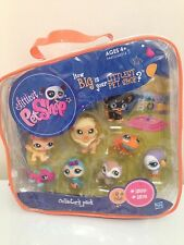 NEW LPS ORIGINAL COLLECTOR'S PACK / 8 PETS #1569 - #1576 & FREE FANCY DRESS