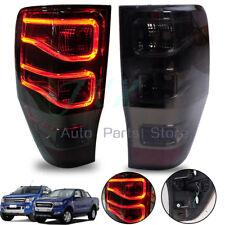 2012+ For Ford Ranger T6 LED Pickup XLT WILDTRAK Rear Light Tail Lamp Red Smoke