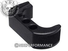 for Glock 42 G42 .380 Extended Mag. Release Black Plain