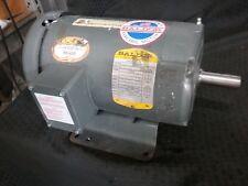 Baldor M3604, 1 HP, 1140 RPM, 60 Hz, 184 Fr, 3 Ph, TE Encl Electric Motor