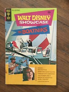 "Walt Disney Showcase (1970) # 1 Fine. Photo Cover ""Boatniks"""