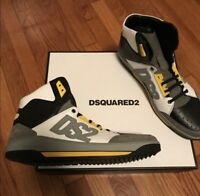 New Dsquared D2 Dsquared2 Hi-top Sneakers Sz 46/13
