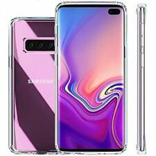 Samsung Galaxy S10 Plus HD Crystal Clear Hard Back and Soft Transparent TPU