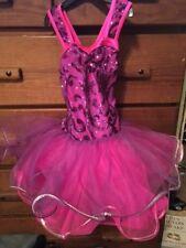 Girls Ballet Weisman Beauty Pageant Dress Pink Purple TUTU Worn Once Small