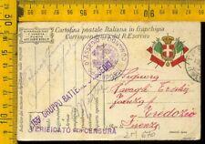 Franchigia Militare WW1 lm 670 155 assedio Tredozio Faenza