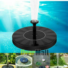 Floating Solar Fountain Pump Water Panel Power Kit Pool Garden Pond Submersible
