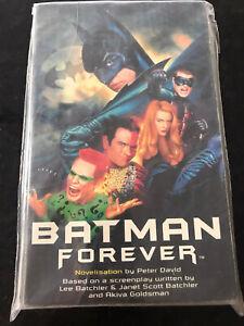 Batman Forever by David, Peter Paperback Book VGC