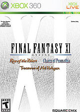 Final Fantasy XI Online for Xbox 360 Brand New Sealed - Free U.S. Ship - Nice