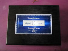 BLACK Lacquer ROCKY PATEL AGED 8 YEARS  TORPEDO WOODEN CIGAR BOX.