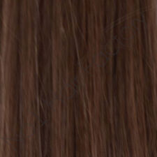 """100 Pre-Bonded Stick Tip Remy Hair Extensions Length 20"""" # 4-Chocolate Brown"""