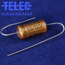 2 PCS. ROE Electrolytic Bipolar Capacitor 1.5uF/100VDC