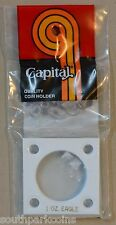 2x2 Capital Plastic 1 oz. Gold Eagle Holder - White (Over 25% Off)