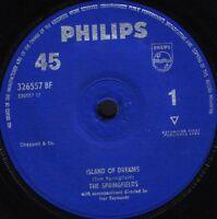 "THE SPRINGFIELDS island of dreams/the johnson boys 326557BF uk 1962 7"" WS EX/"