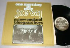 JOE VAL one morning in May LP w/ New England Bluegrass Boys