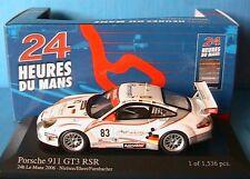 PORSCHE 911 GT3 RSR #83 24H LE MANS 2006 NIELSEN EHRET MINICHAMPS 400066483 1/43