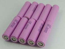 10x Samsung Batterie 3500mAh INR18650-35E / 3.6V-3.7V / 8A / 13A / >2,65V / 4,2V