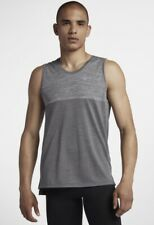 Nike Dri Fit Medalist Training Tank / Vest Medium Gym Crossfit Grey 924613 036