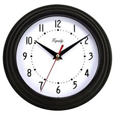 Wall Clock Battery Operated Large Modern Watch Home Office Decor Glass Lens