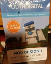 BRAND NEW SEALED YOUTHDIGITAL MOD DESIGN 1 ONLINE COURSES 8-14 MINECRAFT JAVA