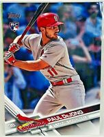 2017 Topps Update St. Louis Cardinals baseball cards Team Set contains 9 cards