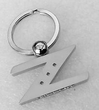 Z Logo Chrome Key Ring Chain Keyring Keychain Nissan Nismo 300Z 350Z 370Z GT-R