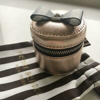 Henri Bendel New York Ribbon Ring Case Centennial Stripe Jewelry Box Interior