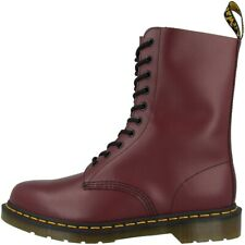Dr.Martens 1490 Boots 10-Loch Boots Unisex Shoes Cherry Red Smooth 11857600