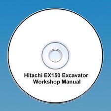 Hitachi EX 150 Excavateur/Digger workshop manual