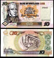 SCOTLAND 10 POUNDS 2001 P 120 UNC