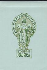 ex-libris Joao Rosa (1950) en relief