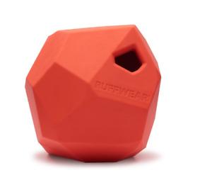 Ruffwear Gnawt-a-Rock Rubber Throw Toy 6073/601 Sockeye Red NEW